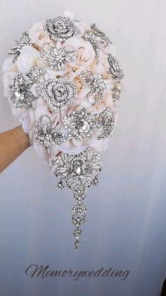 Idea, tricks, as well as guide for receiving the very best end result and also attaining the maximum usage of Wedding Centerpiece Ideas Bride Bouquets, Bridesmaid Bouquet, Bridesmaid Dresses, Glamorous Wedding, Dream Wedding, Tent Wedding, Gothic Wedding, Bling Wedding Cakes, Bridal Brooch Bouquet