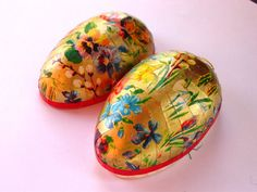 Western Germany Easter Egg ContainerVintage by GoodlookinVintage, $9.00