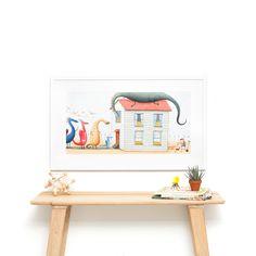 Dragons Love Tacos - 28 x 14 Framed Art Print Dragons Love Tacos, Toddler Playroom, Picture Frames Online, Kid Spaces, Kids Decor, Online Art, Framed Art Prints, Custom Framing, Art For Kids