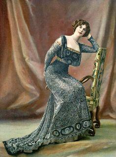 """""""Les Modes"""" 1908"""