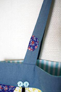 Shopper Tote Bag Tutorial ~ DIY Tutorial Ideas!