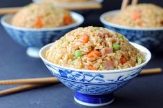 Ham Fried Rice --there's so much more than just soy sauce in this one!