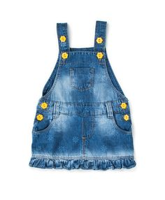 Parizi Jeans Toddler Fashion, Toddler Outfits, Kids Outfits, Kids Fashion, Fashion Outfits, Baby Girl Jeans, Girls Jeans, Dungarees Outfits, Dress Neck Designs