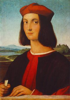 The Renaissance-  Raphael, was an Italian painter and architect of the High Renaissance. His work is admired for its clarity of form and ease of composition and for its visual achievement of the Neoplatonic ideal of human grandeur. Together with Michelangelo and Leonardo da Vinci, he forms the traditional trinity of great masters of that period.[4]