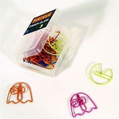 Pac Man Paper Clips