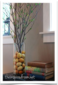 easy Easter or spring decor