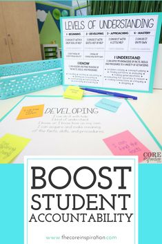If you are looking for ways to boost student accountability in your classroom during reading, writing, and math workshop, these tips are for you, teacher. :) Love how these routines seamlessly integrate student self-reflection and meaningful feedback for Teaching Time, Teaching Reading, Teaching Math, Teaching Ideas, Math Workshop, Reading Workshop, School Classroom, Classroom Ideas, Future Classroom