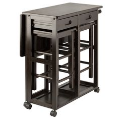 Shop Winsome Suzanne Coffee Solid Wood Space Saver Set with great price, The Classy Home Furniture has the best selection of Counter Height / Bar sets to choose from