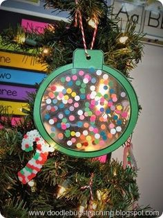Doodle Bugs Teaching -Christmas Art Project - First Grade Classroom - Stained Gl. - Doodle Bugs Teaching -Christmas Art Project – First Grade Classroom – Stained Glass Ornaments - Preschool Christmas, Christmas Crafts For Kids, Holiday Crafts, Christmas Ornaments, Christmas Ideas, Christmas Art Projects, Winter Art Projects, Christmas Worksheets, Pbs Kids