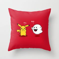 Peekaboo! Throw Pillow