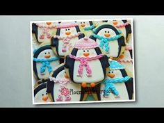 Flour Box Bakery — Day 9 of Cookie Videos: how to decorate a Chilly Penguin