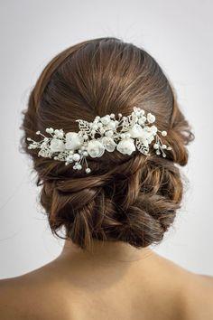 Wedding Hair Accessories Bridal Head Piece by AprilShowerLove