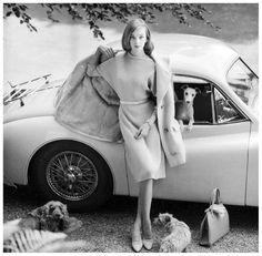 Nena von Schlebrugge: photo by Norman Parkinson, Vogue 1958