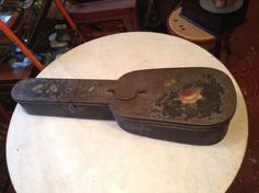 Antique Tin Violin Case Very Early Mid 1800'S | eBay