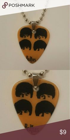 Beatles guitar pick. Beatles guitar pick on 18 in necklace Jewelry Necklaces