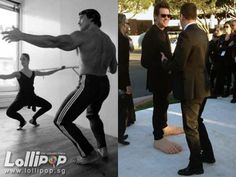 The Terminator does ballet and other candid celeb pictures
