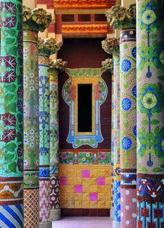 The Palau de la Música Catalana Barcelona, designautore #Barcelona #Concert_Hall