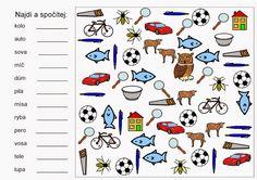 čtení – Monika Rejsková – Webová alba Picasa Mathematics, Alphabet, Language, Album, Teaching, Spy Games, Montessori, Google, Sport