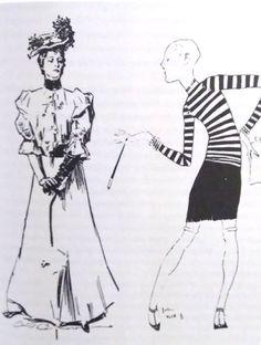 Gibson Girl, Fashion Forward, Woman, In Trend