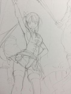 Lucy sketch - by mashima