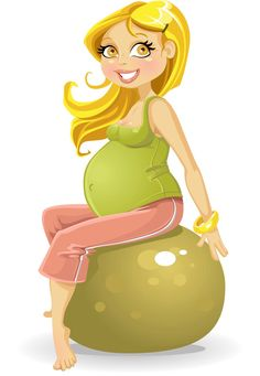 Pregnant woman at gym ball Free Vector Images, Vector Free, Anime Pregnant, Cartoon Kids, Pretty Art, Illustration, Pregnancy, Royalty, Gym