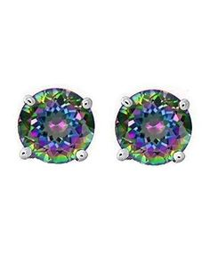 Rainbow Peacock Multi Color Round Cut CZ Basket Set Sterling Silver Stud Earrings 5mm, http://www.amazon.com/dp/B004OPZ42Q/ref=cm_sw_r_pi_awdm_x_nxqVxbGBY9DZK