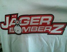Jager Bomberz game worn goalie jersey