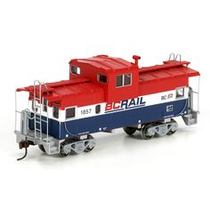 HO RTR Wide Vision Caboose, BCR #1857 (ATH74107): Athearn Trains