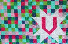 V and Co.: Moda Spell it With Fabric blog hop sponsored by the letter V