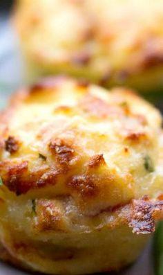 Mashed Potato Puffs | Foodboum