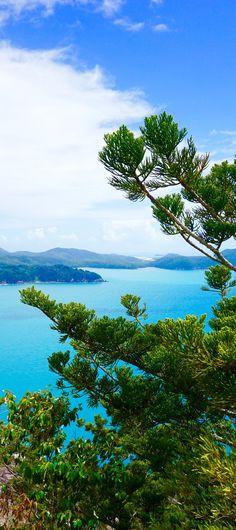 Hamilton Island - Hike up Passage Peak for amazing views of the Whitsundays!  #romantic #whitsundays #hamiltonisland #qld