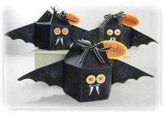 Mini Milk Carton Bat for Halloween ) ) Milk Carton Die Bats Halloween Treat Bags, Halloween Bats, Holidays Halloween, Happy Halloween, Halloween Decorations, Fall Crafts, Holiday Crafts, Crafts For Kids, Milk Carton Crafts