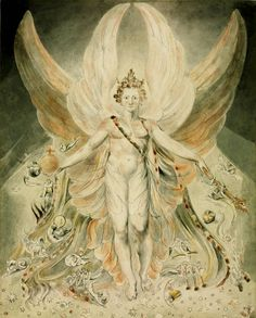 Satan in his Original Glory: 'Thou wast Perfect till Iniquity was Found in Thee' - William Blake, circa 1805