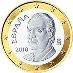 1 euro Spanje