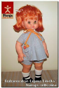 Μια από της πιο γνωστές κούκλες της Ιταλικής εταιρίας Furga με το όνομα felicina.
