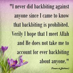 quote of Imam al-Bukhari