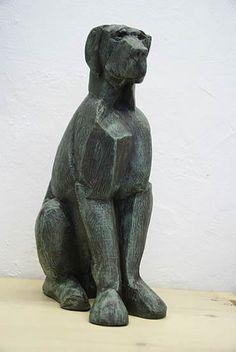Margriet Barends, 'Igor',   brons, oplage 8, hoogte 34 cm