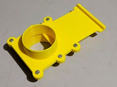 This is a blast gate for a 4 inch shop dust collection system. The design includes parts to allow you to connect the blast gate to a 4 inch ho 3d Printer Designs, 3d Printer Projects, Cnc Projects, Useful 3d Prints, Shop Dust Collection, Print 3d, Diy 3d, 3d Printing Diy, 3d Printed Objects