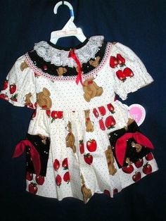 DRESSES TODDLER MARTHA S FRIEND TEDDY BEAR SZ 2T DRESS  new  our store link http://stores.ebay.com/store4angels?refid=store come see our store front always have great sales