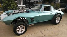 63 Corvette gasser