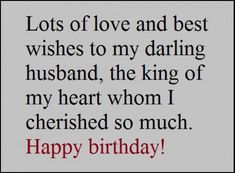 Husband quotes happy birthday love quotes pinterest happy birthday wishes for your husband bookmarktalkfo Image collections