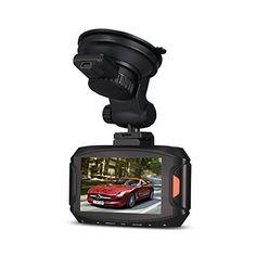 crewpros (TM) nouvelle G90voiture DVR caméra enregistreur Ambarella A7Caméra 5MP Full HD écran LCD 2,7«Objectif 170Grand Angle…