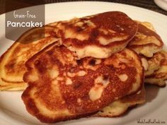 Grain-Free Pancakes -- these taste just like pancakes made with flour!