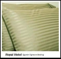 1200 Thread Count Olympic Queen Size 4pc Bed Sheet Set 100% Egyptian Cotton Deep Pocket 1200 TC Stripe Sage-Green by Signature Bedding, http://www.amazon.com/dp/B002SVTD84/ref=cm_sw_r_pi_dp_VpZLqb0X17EWK