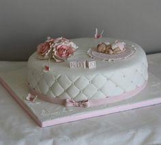 Christening Cakes, Babyshower, Desserts, Food, Image, Valentines Day Weddings, Baptism Cakes, Tailgate Desserts, Deserts