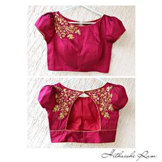 End Customization with Hand Embroidery & beautiful Zardosi Art by Expert & Experienced Artist That reflect in Blouse , Lehenga & Sarees Designer creativity that will sunshine You & your Party. Netted Blouse Designs, Best Blouse Designs, Pattu Saree Blouse Designs, Simple Blouse Designs, Bridal Blouse Designs, Blouse Neck Designs, Sari Design, Pink Blouse Design, Stylish Blouse Design