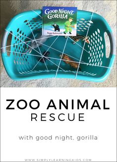 It has been so fun adding a Tiny Tot aspect to our Good Night, Gorilla Preschool Unit! I missed noticing a lot of developmental milestones with Rilynn. I was a first time mom and just didn't realize that children can usually do so much more than you give them credit for. Now that I've had daily projects going on with Rilynn, I... Read More