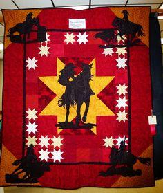 Western Silhouette quilt.  Peace, Robert from nancysfabrics.com