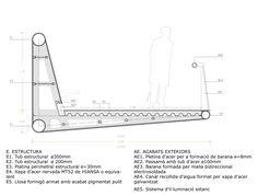 Pasarela de peatones y bicicletas sobre la AP-7, Jordi Farrando + Labaula - BETA