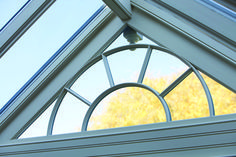 Add interest to your garden room with arched windows